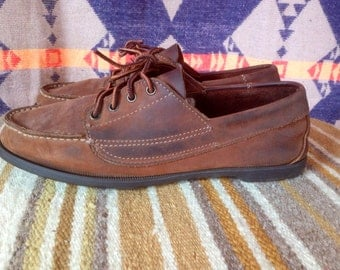 Vintage Made in USA Leather shoes