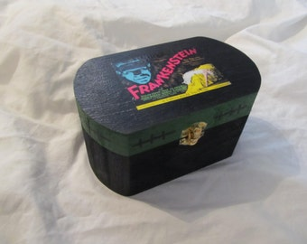 Frankenstein Jewelry Stash Keepsake Box