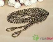 Antique Brass Bag Chain / Purse Chain - 120cm / 47 inch (BC7)