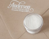 White Embossing Powder by colorbox - for use with pigment ink
