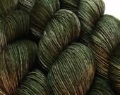 FANGORN Lord of the Rings hand dyed sock yarn 75/25 sw wool/nylon 3.5oz 460 yards