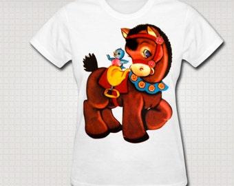 Kitsch Horse T-Shirt