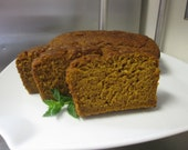 Pumpkin Breakfast Bread - Gluten Free and Vegan
