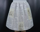 Free scarf! MULTIPLE COLORS - Pride and Prejudice skirt - made to order