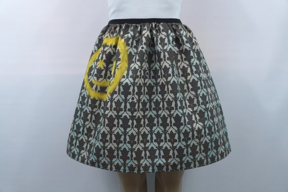 "Sherlock ""Bored"" skirt- made to order"