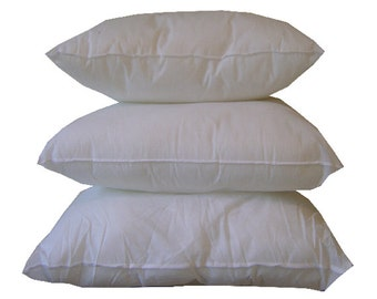 Outdoor Pillow Form - 20x20 Outdoor Pillow Insert - Pillow Insert - Polyester Pillow Insert - Polyester Pillow Insert - Outdoor Inserts
