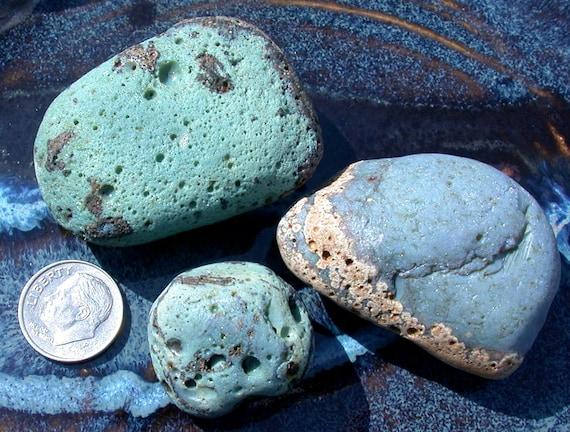 Blast Furnace Slag Glass : Antique sea glass beach slag from lake michigan