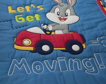 Quilt Baby Bugs Gets Movin' & Pillow Case