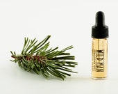 Natural Cologne Oil WILD MAN Trial Size Unisex Natural Perfume 3.7 ml // 1 Dram