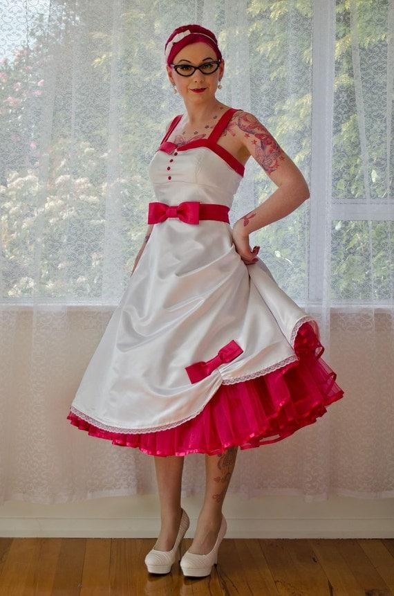 Items Similar To 1950s Jacqueline Rockabilly Wedding