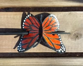 Monarch Butterfly Leather...
