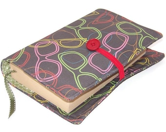 Handmade Book Cover, Sunglasses Fabric, UK Seller, Bible Cover, Journal Sleeve