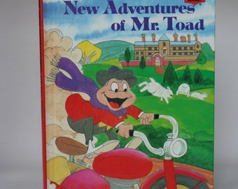 The New Adventures of Mr Toad Notebook - Handmade Disney Notebook