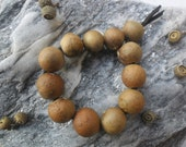 Oak Serpent Egg Bracelet - Shaman Druid Witch Pagan Oak tree totem witchcraft natural nature witchcraft druidic