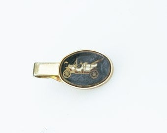 Vintage Old Fashion Car Tie Clip