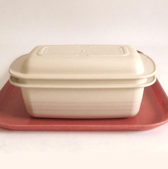 Tupperware Ultra 21 Microwave Loaf Pan Lid Dish 2 Qt 1745 1