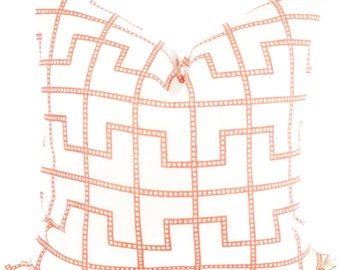 Celerie Kemble Bleecker Spark Decorative Pillow Cover, Square or Lumbar pillow - Accent Pillow, Throw Pillow