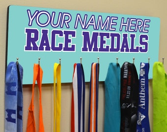 Hooked On Medals Hanger Your Race Medals - [tr-16547]
