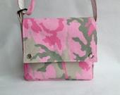 Kids or Toddler Messenger Bag - Pink Camouflage