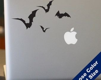 Flying Bats Decal - for Laptop, Car