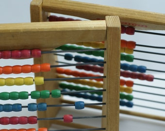 pair of abacus. toys. children abacus. counting teaching tool. Only one available