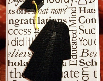 Black and White Graduation Card  20140108