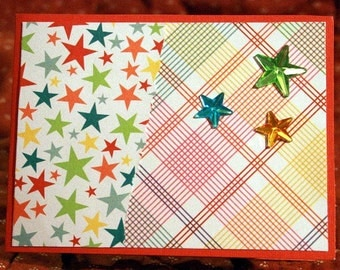 Star Birthday Card  20140115