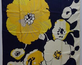 DIOR 60s Stylized Flower Scarf