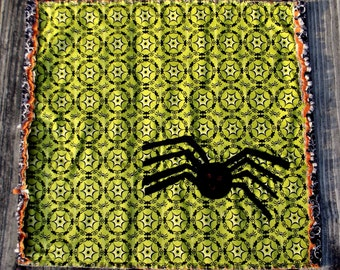 Halloween Spider Mini Quilt