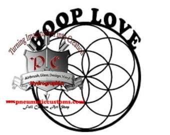 Hooper flower of life HOOP LOVE