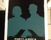 Portlandia poster print