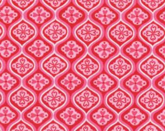 SALE - Surrounded By Love - Love Tiles Red Heart by Deb Strain from Moda