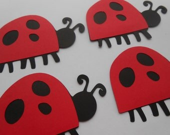 10 Ladybugs. 3 inch. Decoration, Parties, Birthdays, Weddings, Favor, Gift. CHOOSE Your Colors
