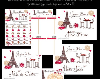 Complete Paris Bunco Set