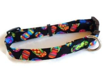 Flip Flop Summer Dog Collar size Large