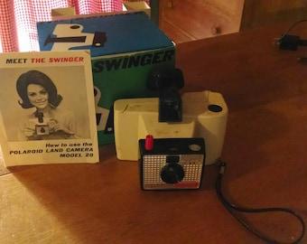 vintage 1970's Swinger camera