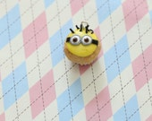Minion Cupcake Charm