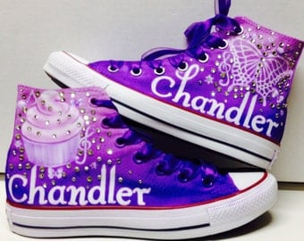 Ombre custom personalized converse - flawless airbrush