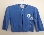 Vintage Balloon Cardigan Sweater 2T