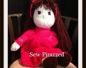 """SALE Love 20"""" Crochet Doll"""
