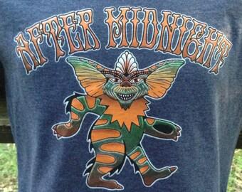 Grateful Gremlin / After Midnight lot tee shirt - Grateful Dead Jerry Garcia Furthur Phish allman brothers gremlins t-shirt