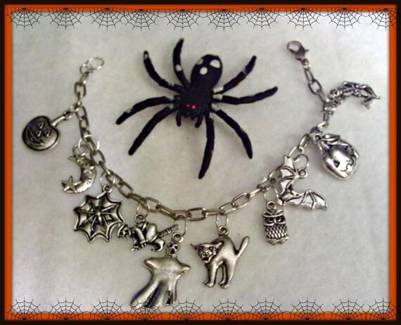 Ghostgap Halloween Charm Bracelet