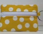 Keychain Wallet/ Cotton Wallet/ Compact Wallet/ Fun Wallet/ Key Chain/ Wallet/ Zipper Wallet/ Gift Card Holder