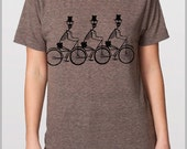 Day of the Dead Unisex T Shirt American Apparel Skeleton Bikers XS, S, M, L, XL 9 COLORS