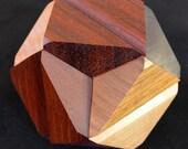 Seven Woods Puzzle (Stewart Coffin  #42) - Interlocking Geometric puzzle