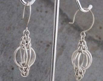 Sterling Lantern Earrings