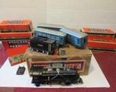 Vintage Lionel Train Set Pre War 1930's 262E O Gauge Full Set With Boxes and Carton Antique