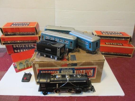 Antique lionel trains o gauge