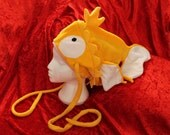 Magikarp Head Eater Hat - Fleece cosplay pokemon costume winter