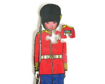 Toy Soldier Wood Puzzle